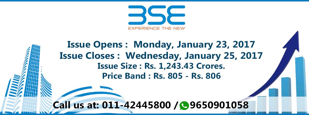 Bombay stock exchange IPO