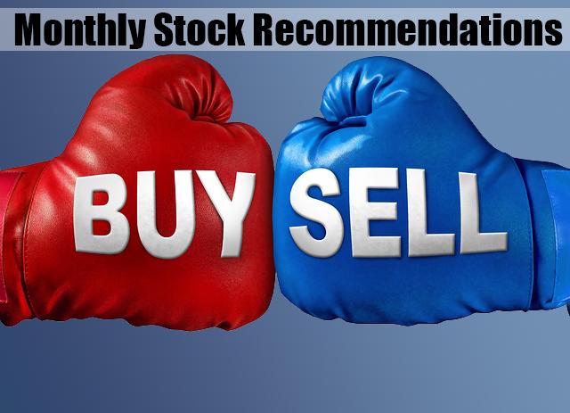 Monthly Stock Picks Recommendation November 2017
