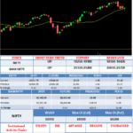 It was a choppy day with bullish bias in NIFTY. The index opened near yesterday close at 10304.35.